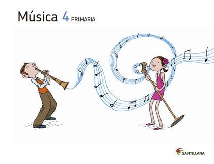 MUSICA + CD 4 PRIMARIA.