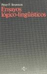 ENSAYOS LÓGICO LINGUÍSTICOS