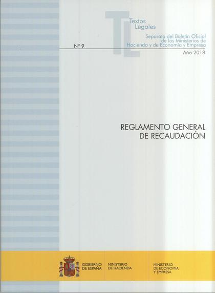 REGLAMENTO GENERAL DE RECAUDACIÓN. ACTUALIZACIÓN NOVIEMBRE 2018