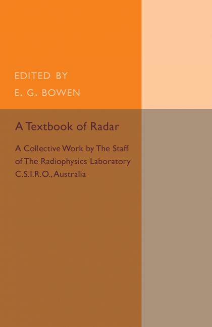 A TEXTBOOK OF RADAR