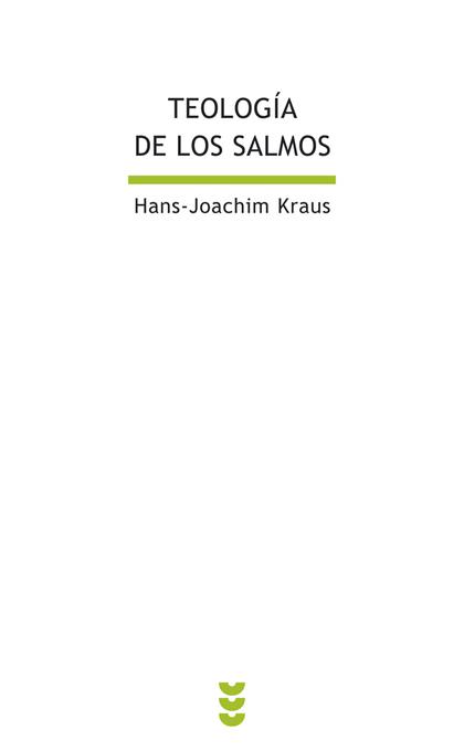 TEOLOGÍA DE LOS SALMOS