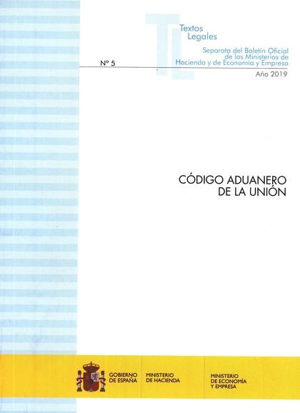 CÓDIGO ADUANERO DE LA UNION.