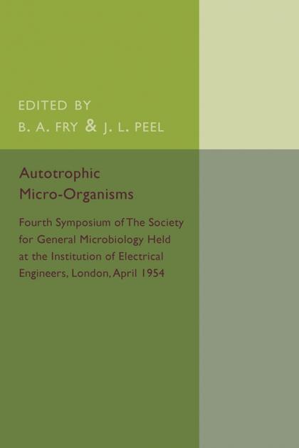 AUTOTROPHIC MICRO-ORGANISMS