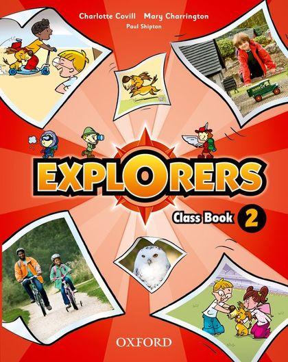 (11).EXPLORERS 2º.PRIM.(CLASS BOOK+SONGS CD)