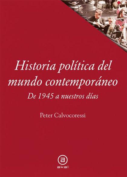 HISTORIA POLITICA DEL MUNDO CONTEMPORANEO