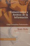 COMUNICACIÓN Y ARCHIVO DE LA INFORMACIÓN: CICLOS FORMATIVOS