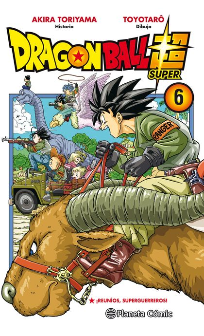 DRAGON BALL SUPER Nº 06.
