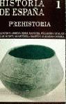 H.DE ESPAÑA T.1.PREHISTORIA
