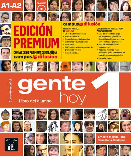 GENTE HOY 1 LIBRO ALUMNO CD PREMIUM.