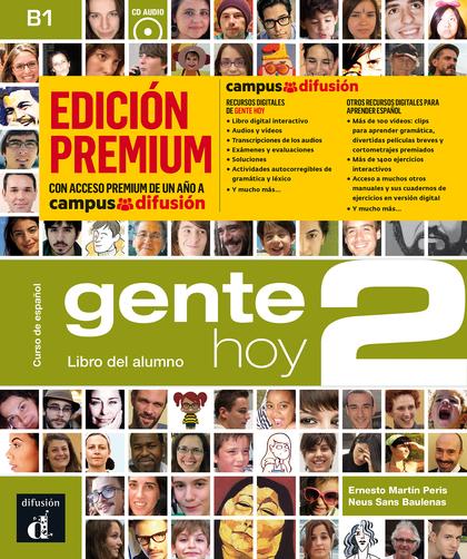 GENTE HOY 2 LIBRO ALUMNO CD PREMIUM.