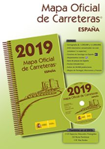 MAPA OFICIAL DE CARRETERAS 2019 ESPAÑA.