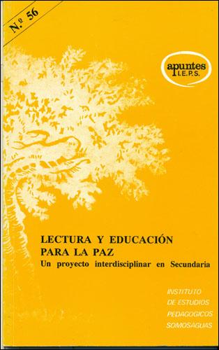 LECTURA Y EDUCACION PARA LA PAZ