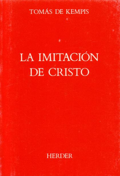 IMITACIÓN DE CRISTO, LA