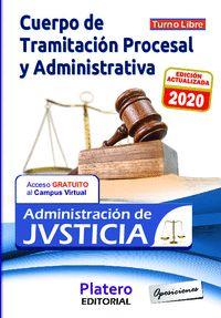 TEST. CUERPO DE TRAMITACIÓN PROCESAL Y ADMINISTRATIVA. TURNO LIBRE. ADMINISTRACIÓN DE JUSTICIA