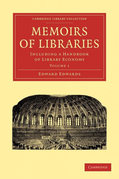 MEMOIRS OF LIBRARIES - VOLUME 1