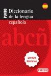 DICCIONARIO PUNTO DE LA LENGUA ESPAÑOLA : 20000 TÉRMINOS