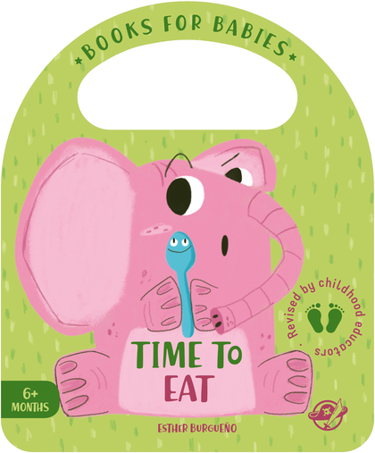 BOOKS FOR BABIES - TIME TO EAT. UN CUENTO PARA BEBÉS EN INGLÉS PARA APRENDER A COMER DE TODO ¡I