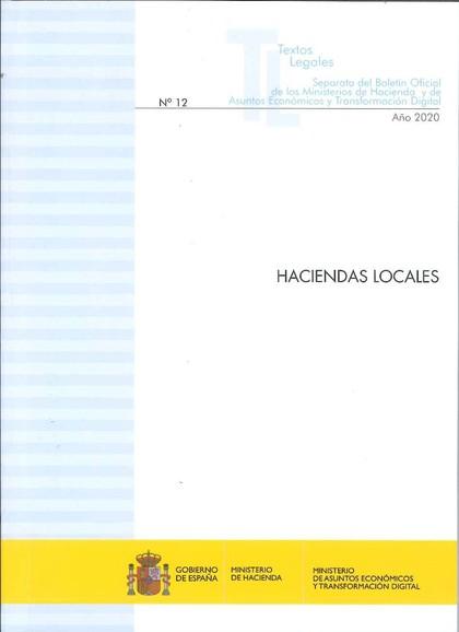 HACIENDAS LOCALES. ACTUALIZACIÓN DICIEMBRE 2020