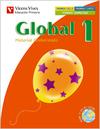 GLOBAL, MEDIO, MATEMÁTICAS, LENGUA, 1 EDUCACIÓN PRIMARIA. 1 TRIMESTRE. MATERIAL GLOBALIZADO (PA