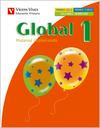 GLOBAL, MEDIO, MATEMÁTICAS, LENGUA, 1 EDUCACIÓN PRIMARIA. 2 TRIMESTRE. MATERIAL GLOBALIZADO (PA