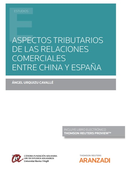 ASPECTOS TRIBUTARIOS DE LAS RELACIONES COMERCIALES ENTRE CHINA Y ESPAÑA (PAPEL +.