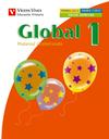 GLOBAL, MEDIO, MATEMÁTICAS, LENGUA, 1 EDUCACIÓN PRIMARIA. 3 TRIMESTRE. MATERIAL GLOBALIZADO (PA