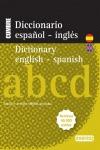 DICCIONARIO NUEVO CUMBRE ESPAÑOL-INGLÉS, ENGLISH-SPANISH : TÉRMINOS 40000 ENTRIES
