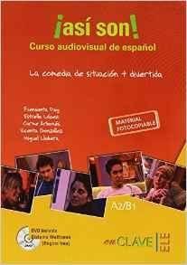 ¡ASÍ SON! CURSO AUDIOVISUAL + DVD (A2-B1).