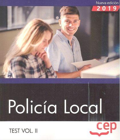 OPOSICIONES AYUNTAMIENTO POLICIA LOCAL TEST VOL.2