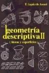 GEOMETRIA DESCRIPTIVA II. acotado y axonometrico