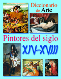 DICCIONARIO DE PINTORES DEL SIGLO XIV AL XVIII