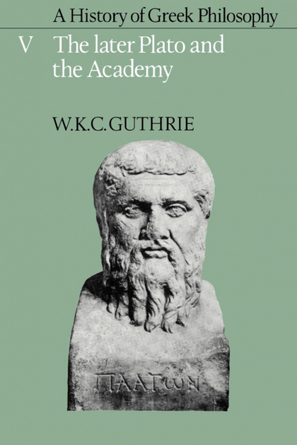A HISTORY OF GREEK PHILOSOPHY