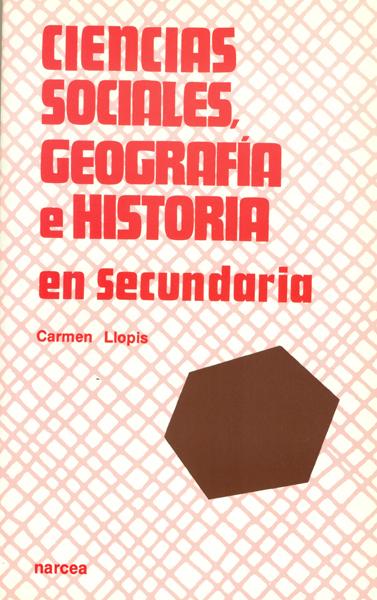 CIENCIAS SOCIALES GEOGRAFIA HISTORIA EN SECUNDARIA