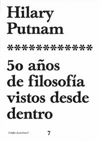 50 AÑOS DE FILOSOFÍA VISTOS DESDE DENTRO