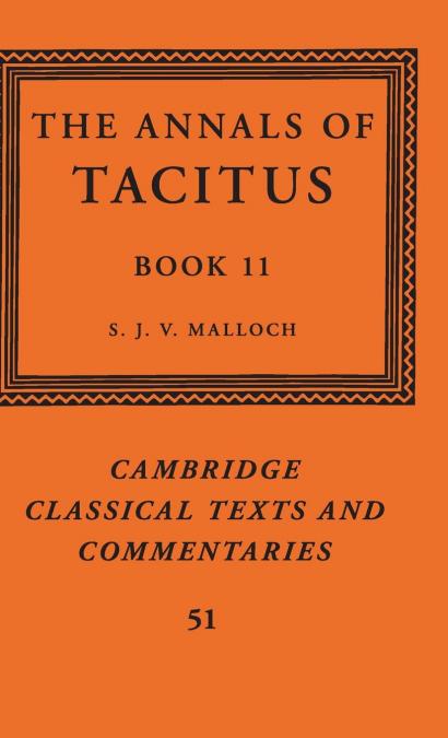 THE ANNALS OF TACITUS