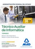 TÉCNICO AUXILIAR DE INFORMÁTICA DE LA ADMINISTRACIÓN GENERAL DEL ESTADO. TEMARIO.