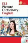 ELI PICTURE DICTIONARY ENGLISH +CD ROM.
