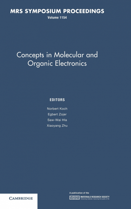 CONCEPTS IN MOLECULAR AND ORGANIC ELECTRONICS