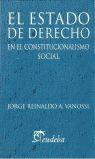 ESTADO DE DERECHO EN EL CONSTITUCIONALISMO SOCIAL,