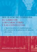 EL LIBRO DE LOS CARACTERES Y LAS CONDUCTAS  EPÍSTOLA SOBRE EL ESTABLECIMIENTO DEL CAMINO DE LA