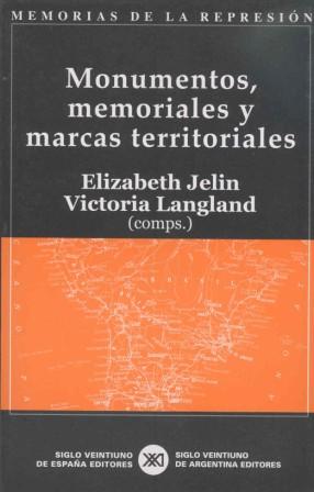 MONUMENTOS, MEMORIALES Y MARCAS TERRITORIALES