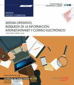 MANUAL SISTEMA OPERATIVO BUSQUEDA INFORMACION INTERNET CORR