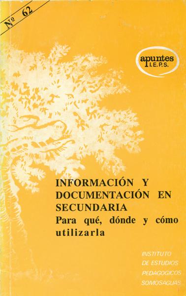 INFORMACION DOCUMENTACION SECUNDARIA 62