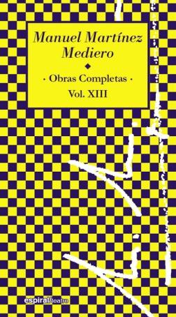 OBRAS COMPLETAS, VOL. XIII.