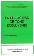 LA PUBLICIDAD DE TONO EXCLUYENTE