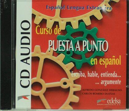 CURSO DE PUESTA A PUNTO EN ESPAÑOL