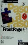MICROSOFT FRONTPAGE 97 PASO A PASO
