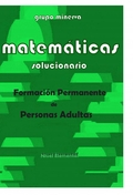 MATEMÁTICAS. P.C.P.I.S. SOLUCIONARIO DE NIVEL ELEMENTAL.
