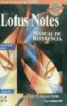 LOTUS NOTES MANUAL DE REFERENCIA