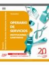 OPERARIO DE SERVICIOS DE INSTITUCIONES SANITARIAS. TEMARIO
